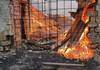 Un incendiu a izbucnit într-un depozit de păstrarea a cărbunelui din localitatea Camencea, raionul Orhei