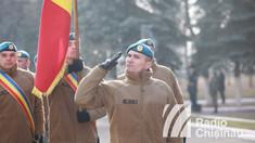 GALERIE FOTO | Ceremonia de detașare a celui de-al 12-lea contingent al Armatei Naționale care va pleca în misiunea internațională din Kosovo