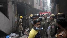 Incendiu devastator la o fabrică de genți din India. Au murit peste 40 de oameni