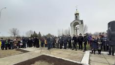 VIDEO/FOTO | Monument dedicat eroilor români căzuți la datorie în Primul Război Mondial, reinaugurat la Rezina după ce a fost distrus de sovietici