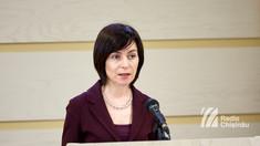 Maia Sandu: Printre planurile noastre sunt și alegerile parlamentare anticipate