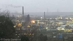 Franţa: Incendiu la o rafinărie a companiei Total, pus sub control