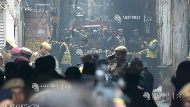 India: Poliţia i-a arestat pe proprietarul şi pe managerul fabricii unde au murit 43 de angajaţi într-un incediu