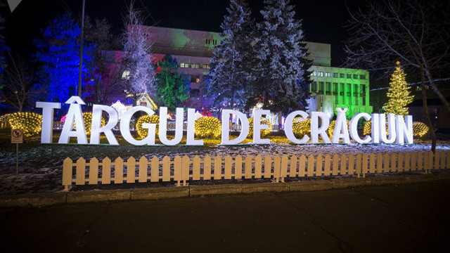 Timp de aproape o lună, în sectoarele Chișinăului vor fi organizate târguri de Crăciun