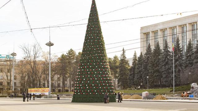Primăria Chișinău ignoră Crăciunul pe stil nou și anunță program de sărbătoare doar pe 31 decembrie și 7 ianuarie