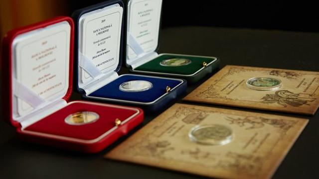 BNM a pus în circulație noi monede jubiliare și comemorative