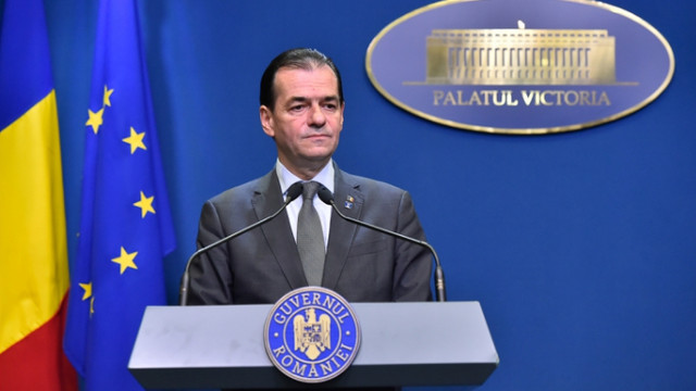 Mesajul transmis de premierul României Ludovic Orban cu ocazia Zilei Naționale