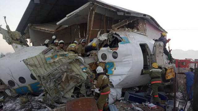Accidente aviatice produse în lume (cronologie 2018-2019)