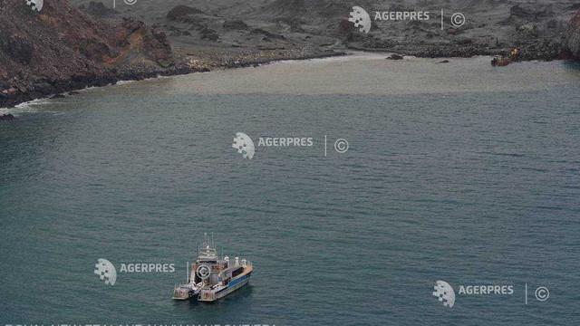 Erupţia vulcanică din Noua Zeelandă: Ultimele două cadavre nu au fost găsite de scafandri