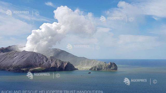 Erupţia vulcanică din Noua Zeelandă: Bilanţul morţilor a crescut la 18