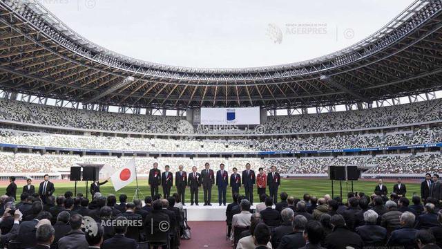 Stadionul Național din Tokyo a fost inaugurat duminică, cu șapte luni înainte de JO 2020