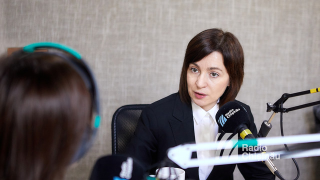 Maia Sandu declară că riscul federalizării R.Moldova există la nivel politic. Ce spune despre recunoașterea internațională a statutului de neutralitate