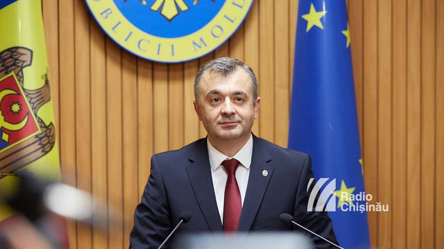 Premierul Ion Chicu i-a transmis un mesaj de condoleanțe omologului său ucrainean
