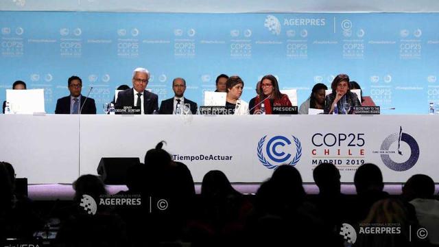 Spania - COP25 aprobă un document final privind creşterea ambiţiilor climatice pentru 2020