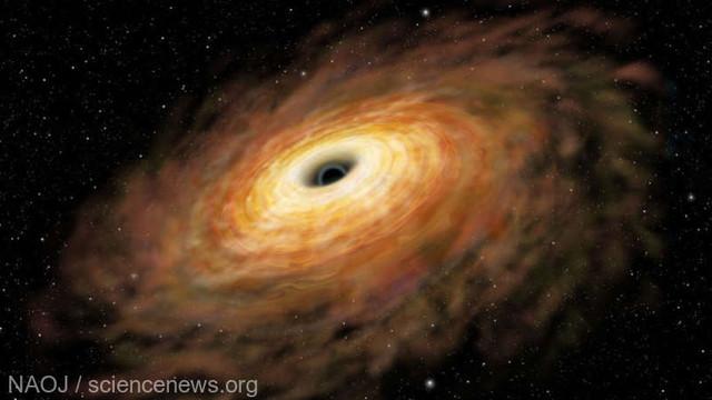 Gaura neagră ''imposibil'' de masivă din Calea Lactee - rezultatul unei erori de calcul