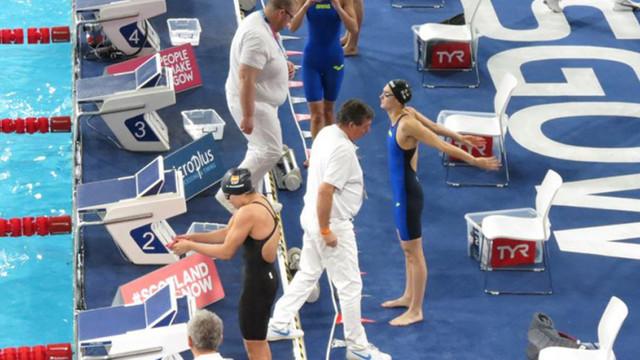 Tatiana Chișca a ocupat locul 12 la Europenele de înot