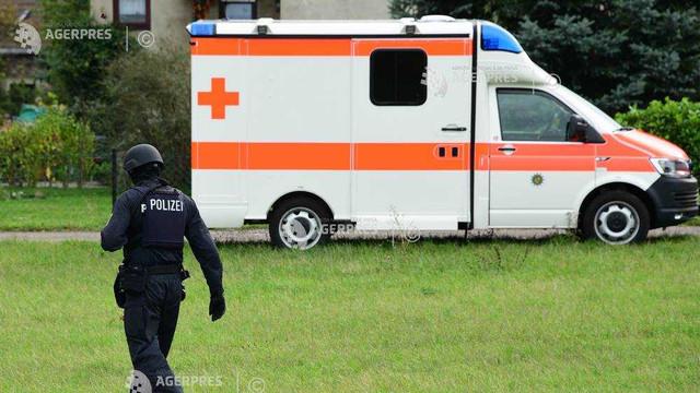 Cel puțin 25 de persoane au fost rănite într-un bloc dintr-un oraș din estul Germaniei