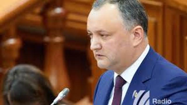 Igor Dodon: Partidul Democrat nu se află la guvernare