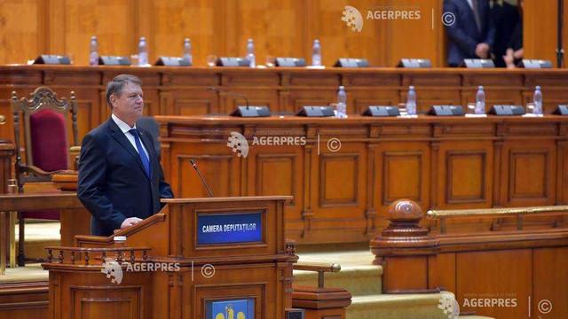Klaus Iohannis, la ședința solemnă din Parlamentul României | Marea Unire de la 1 Decembrie 1918 a deschis calea reformelor, modernizării şi dezvoltării, care a fost însă