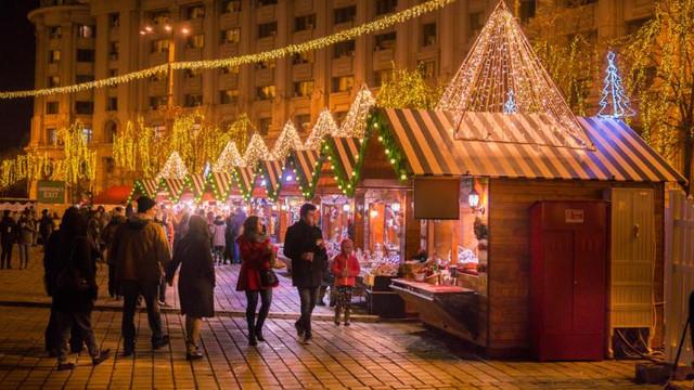 Târgul de Crăciun din centrul Capitalei și-a închis porțile pentru vizitatori