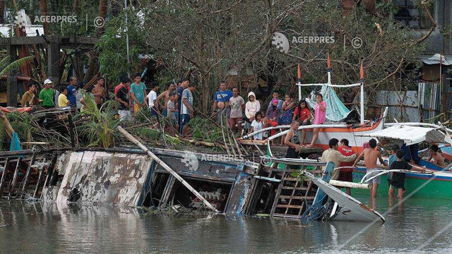 Filipine - Cel puțin 13 morți în timpul trecerii taifunului Kammuri (nou bilanț)