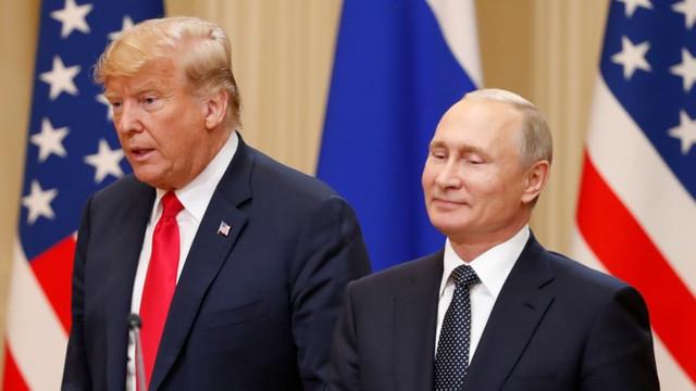 Rusia: Putin îi mulţumeşte lui Trump pentru informaţiile care au contribuit la dejucarea unor atacuri