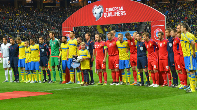 Naționala de fotbal a Moldovei va juca un meci amical cu Suedia