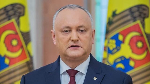 Preşedintele Igor Dodon a sesizat CC privind proiectului de Lege ce vizează Consiliul Superior al Magistraturii