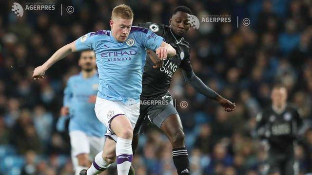 Fotbal: Manchester City a câştigat derby-ul cu Leicester (3-1), din etapa a 18-a a Premier League