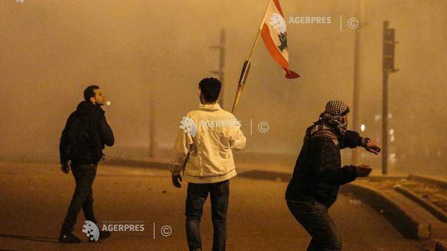 Criză în Liban: Zeci de răniți în urma unor confruntări la Beirut; șeful diplomației franceze invocă o