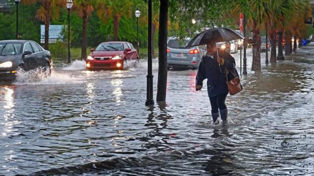 Atenționare de călătorie din partea MAE al României | Franța - coduri roșu și portocaliu de ploi, furtuni și inundații