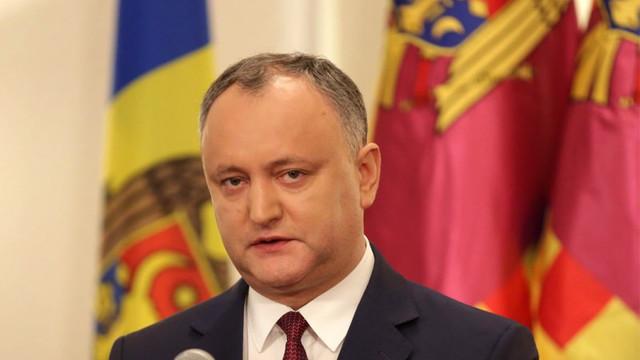 """25 de ani de la crearea UTA Găgăuzia. Igor Dodon a vorbit în rusă despre """"poporul multinațional al R.Moldova"""""""