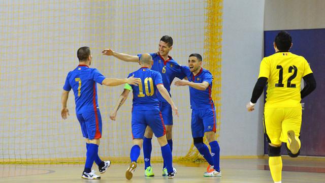 Naționala de futsal  a obținut două victorii în meciurile cu Bulgaria