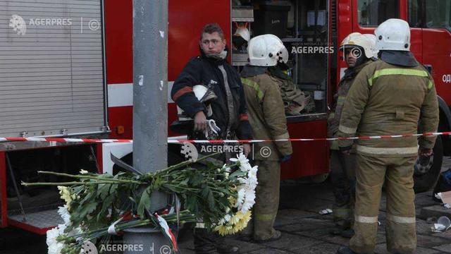 Ucraina: Bilanțul incendiului de la o instituție de învățământ superior din Odesa ajunge la 16 morți; directoarea, arestată