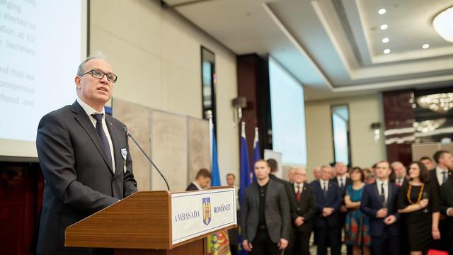 O piedică în calea uitării - discursul Ambasadorului Daniel Ioniță, la Recepția de Ziua Națională a României