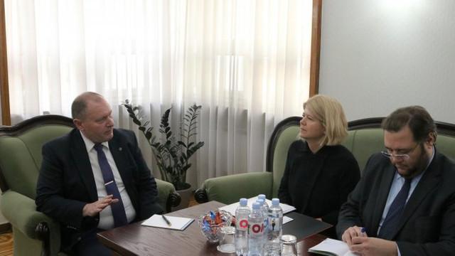 Ministrul de Externe a avut o întrevedere cu ambasadorul Italiei. Despre ce au discutat oficialii