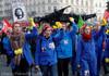 Noi proteste în masă împotriva reformei sistemului de pensii în Franţa