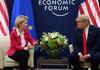 DAVOS 2020: Donald Trump i-a transmis Ursulei von der Leyen că vrea un acord comercial cu UE