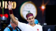 Tenis: Federer, amendat cu 3.000 de dolari pentru înjurăturile din meciul cu Sandgren