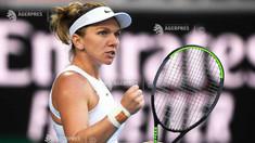 Tenis: Simona Halep s-a calificat în turul al doilea la Australian Open
