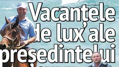 ZDG | Vacanțele de lux ale președintelui Igor Dodon din ultimul deceniu ( Revista presei )