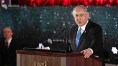 Netanyahu: Palestineinii nu vor obţine niciodată o înţelegere mai bună decât cea propusă de Donald Trump