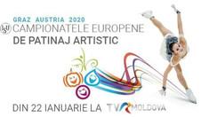 Campionatul European de Patinaj Artistic 2020 va putea fi urmărit doar pe TVR MOLDOVA