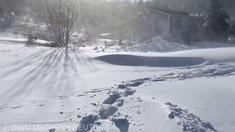 Furtună de zăpadă  pe coasta estică a Canadei. Armata a fost mobilizată la operaţiunile de dezăpezire