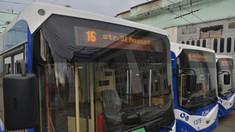 Redeschiderea rutei de troleibuz care face legătura între Ciocana și Centru, cu modificarea itinerarului