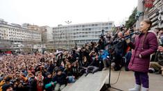 Grevă împotriva modificărilor climei: Greta Thunberg protestează la Lausanne alături de mii de tineri