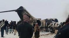 Avionul prăbușit în Afganistan | Americanii vor să ajungă la el, dar sunt atacați de talibani