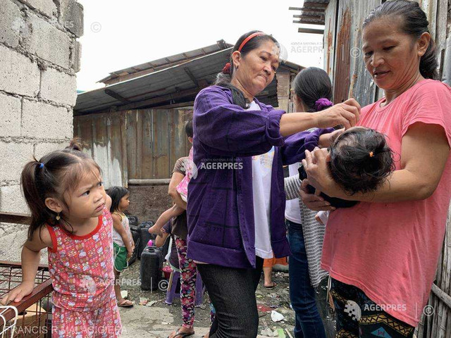 Atenţionare de călătorie în Filipine - se atrage atenţia asupra necesităţii vaccinării împotriva poliomielitei
