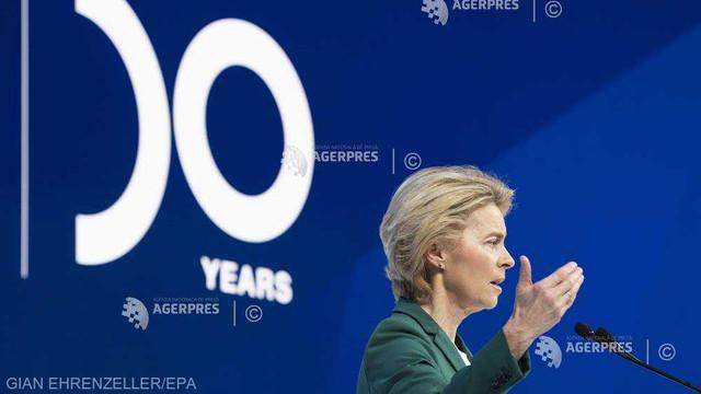 Ursula von der Leyen estimează că un acord comercial UE-SUA ar putea fi convenit în câteva săptămâni