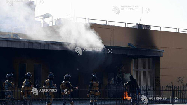 Un NOU atac | Cinci rachete Katiușa lângă ambasada SUA la Bagdad